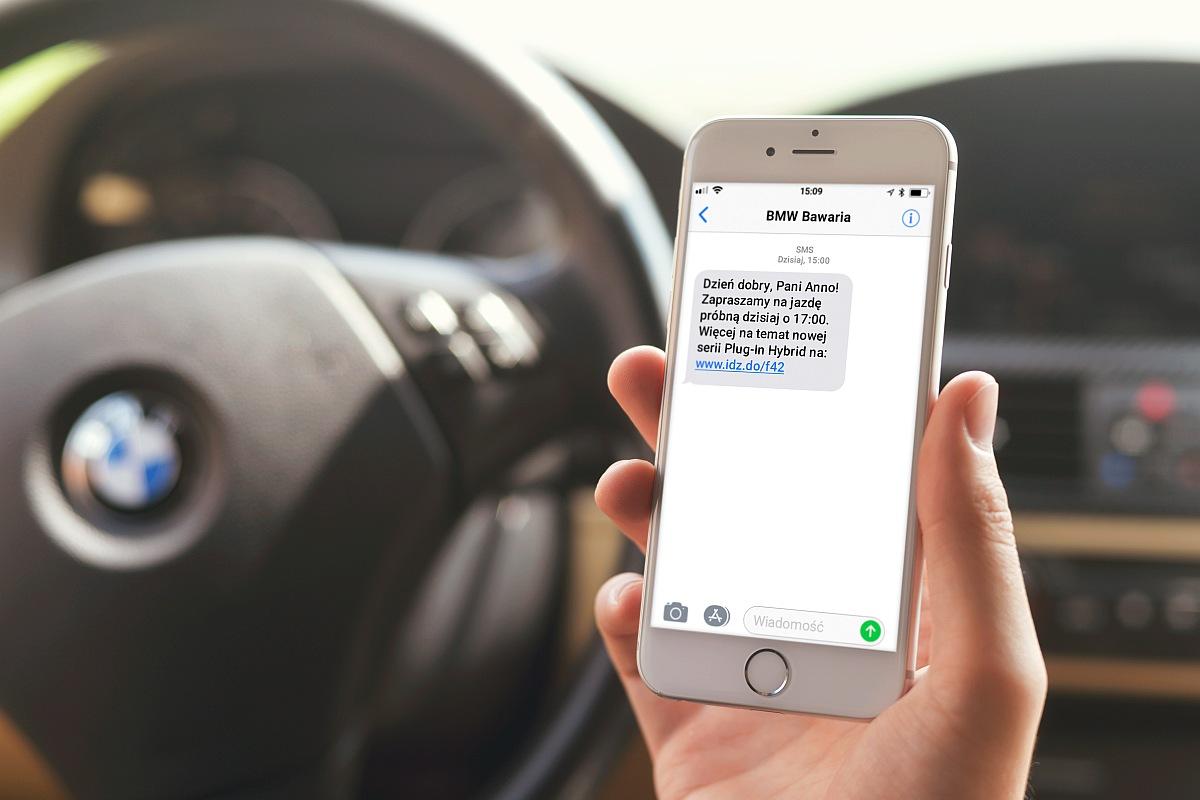 Komunikacja SMS w branży motoryzacyjnej na przykładzie działań Bawaria Motors [WYWIAD]
