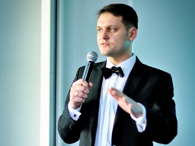Arek Widawski - fot Piotr Szałański