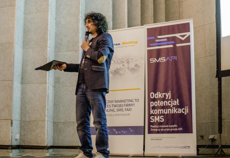 Mariusz Kałamaga SMSAPI Mobile Silesia
