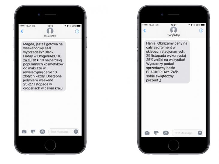 Wiadomość SMS: nazwa firmy zamiast numeru telefonu