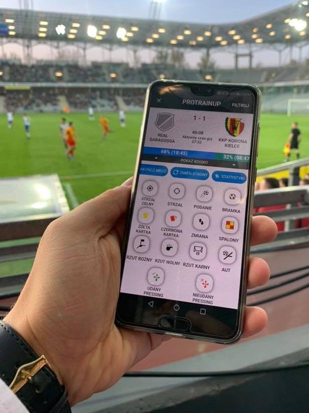SMSAPI ProTrainUp Sport SMS Aplikacja