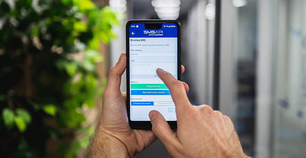 SMSAPI Nowa Aplikacja Mobilna Android