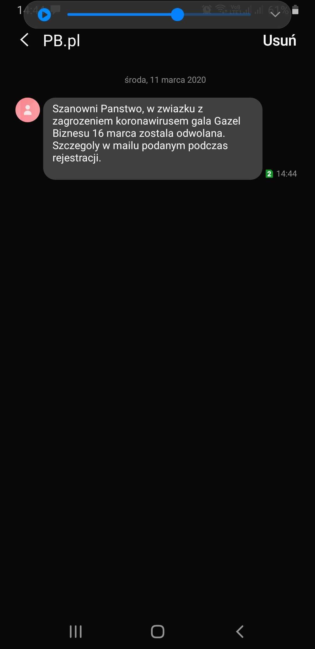 SMSAPI Puls Biznesu SMS