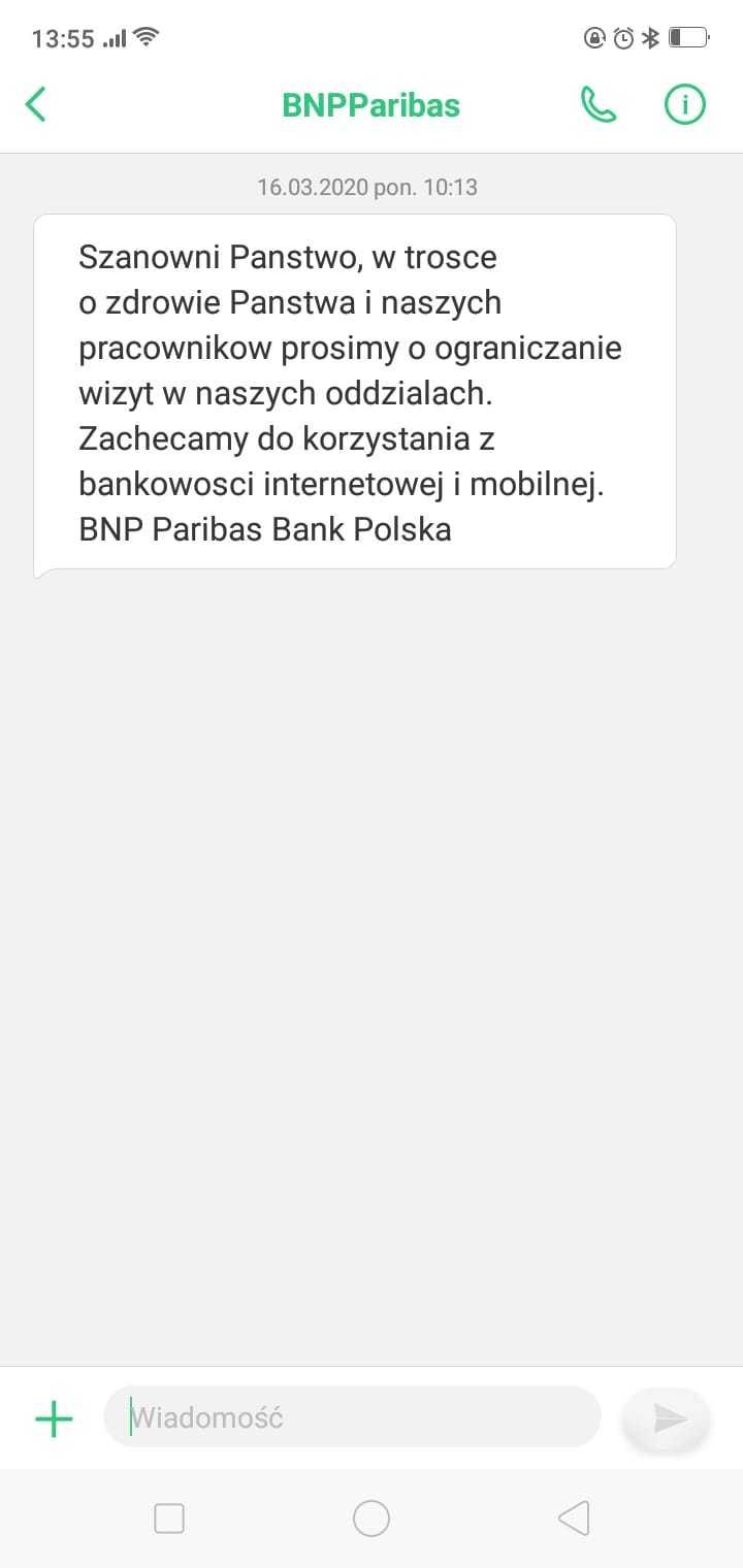 SMSAPI Paribas SMS