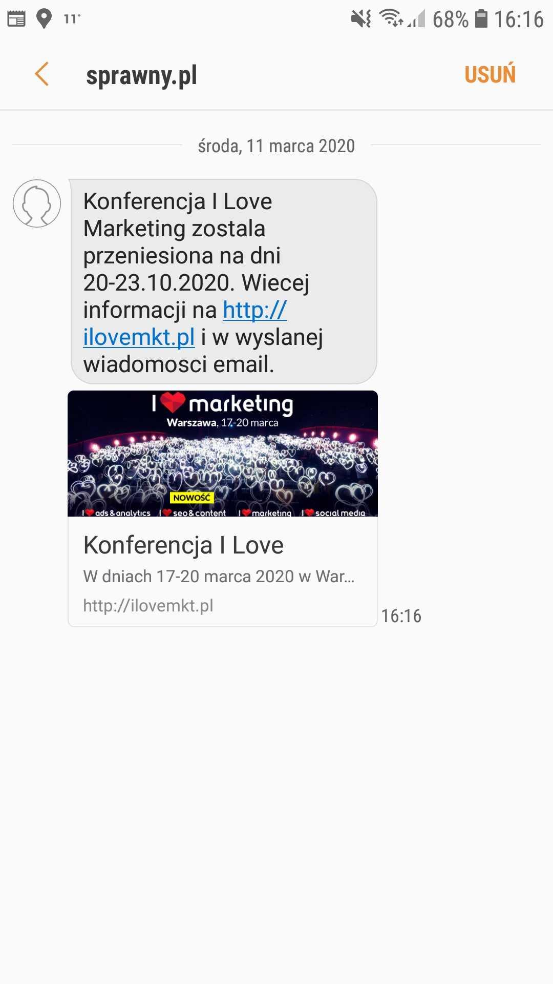 SMSAPI Konferencja Sprawny Marketing SMS