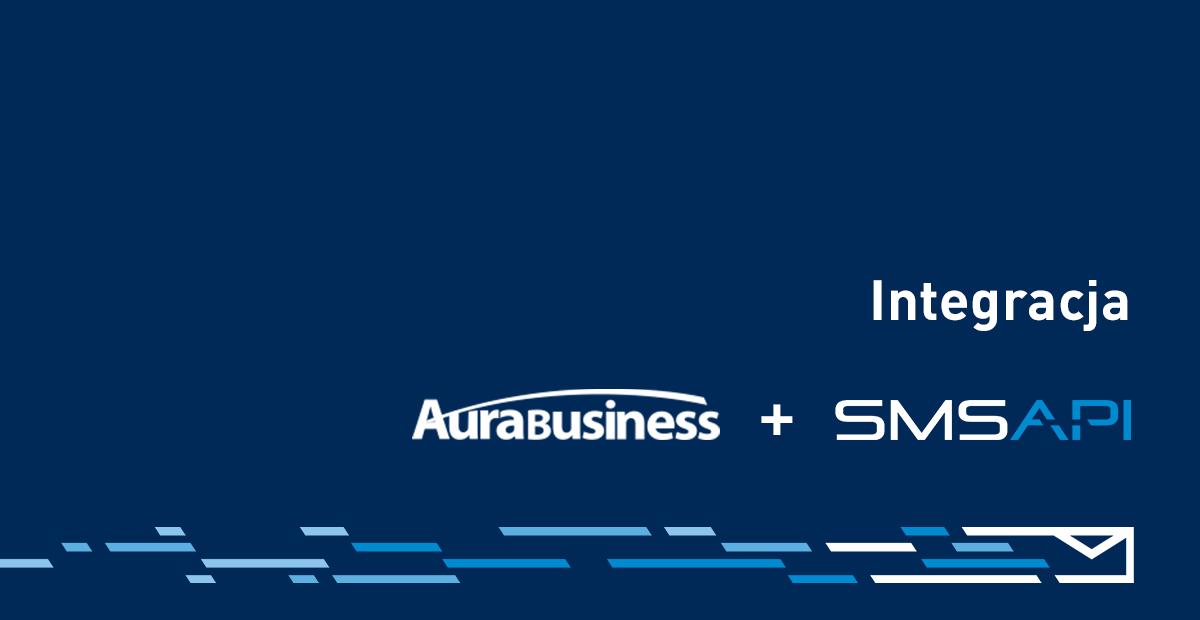 SMSAPI Aura Business SMS Powiadomienie CRM System
