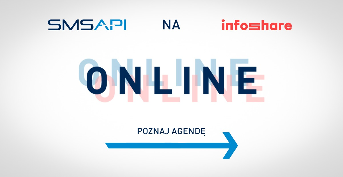 Poznaj agendę stoiska SMSAPI na Infoshare 2020 Online