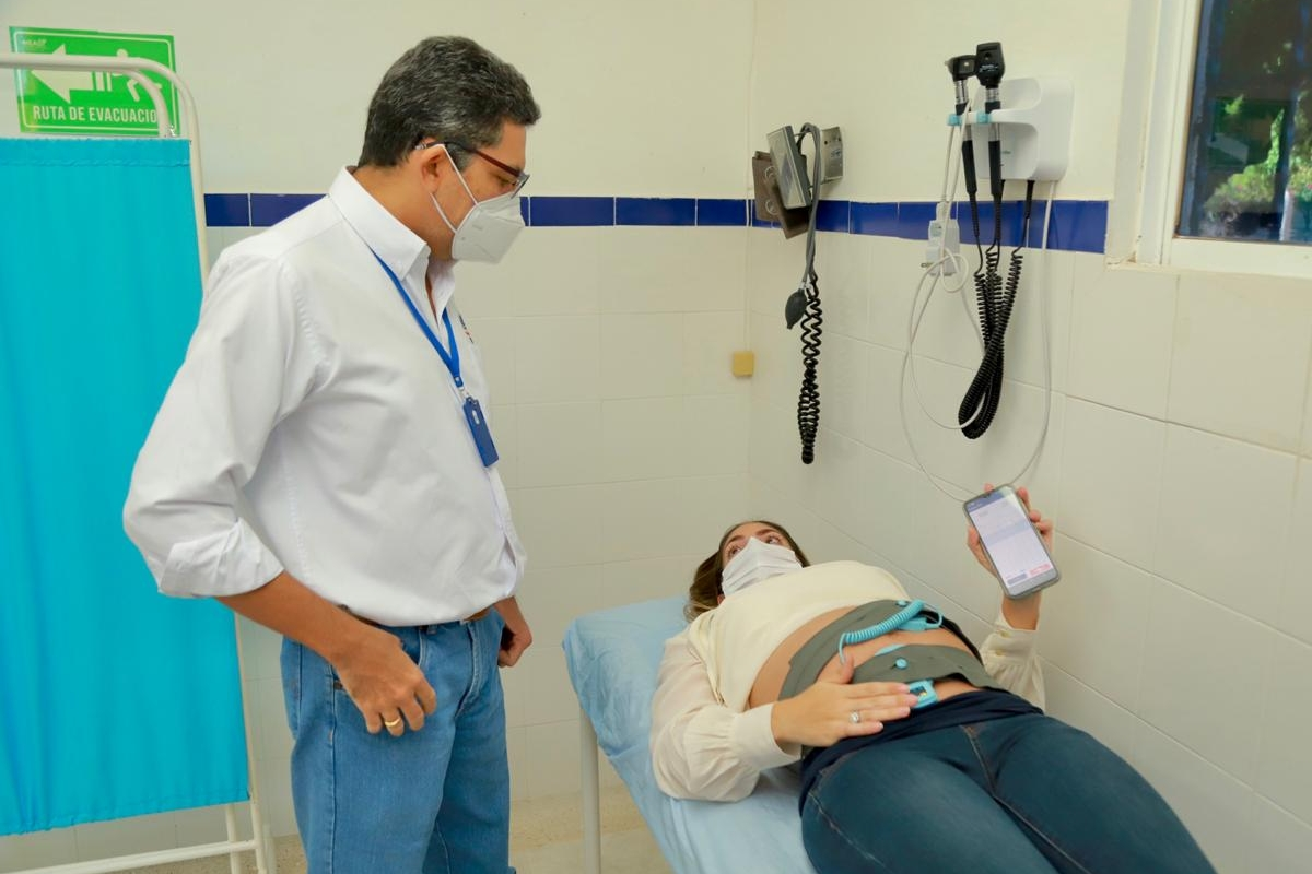 Carebits Badanie KTG Kolumbia