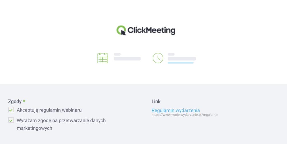 Zgody marketingowe - webinar w ClickMeeting